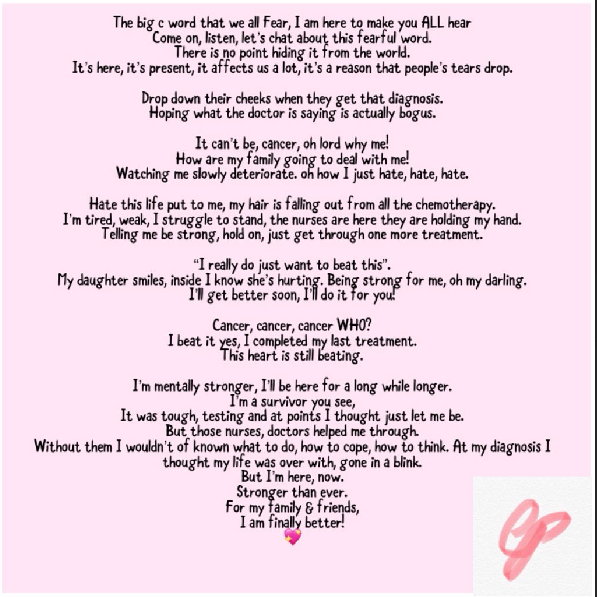 My daughter hates me poem