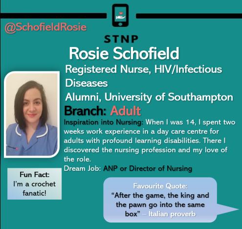 Rosie Schofield new